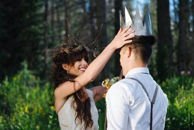 'Where the Wild Things Are' Styled Wedding Inspiration 16
