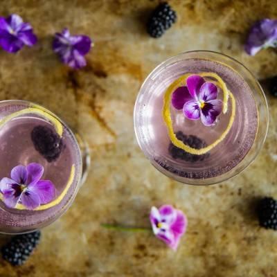 One Dozen Floral Cocktails for Spring & Summer