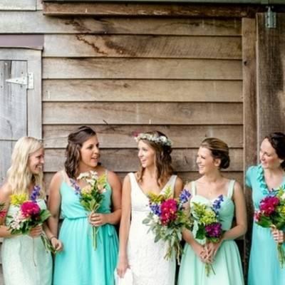 Colorful + Earthy North Carolina Farm Wedding