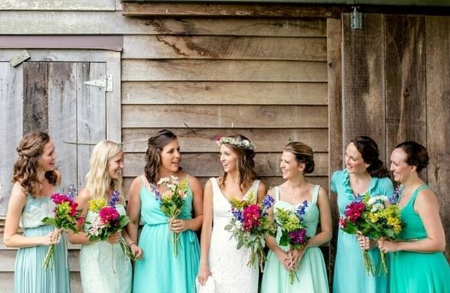 Colorful + Earthy North Carolina Farm Wedding 2