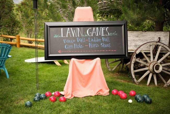 Coral + Sweet Mint Summertime Ranch Wedding Reception 17