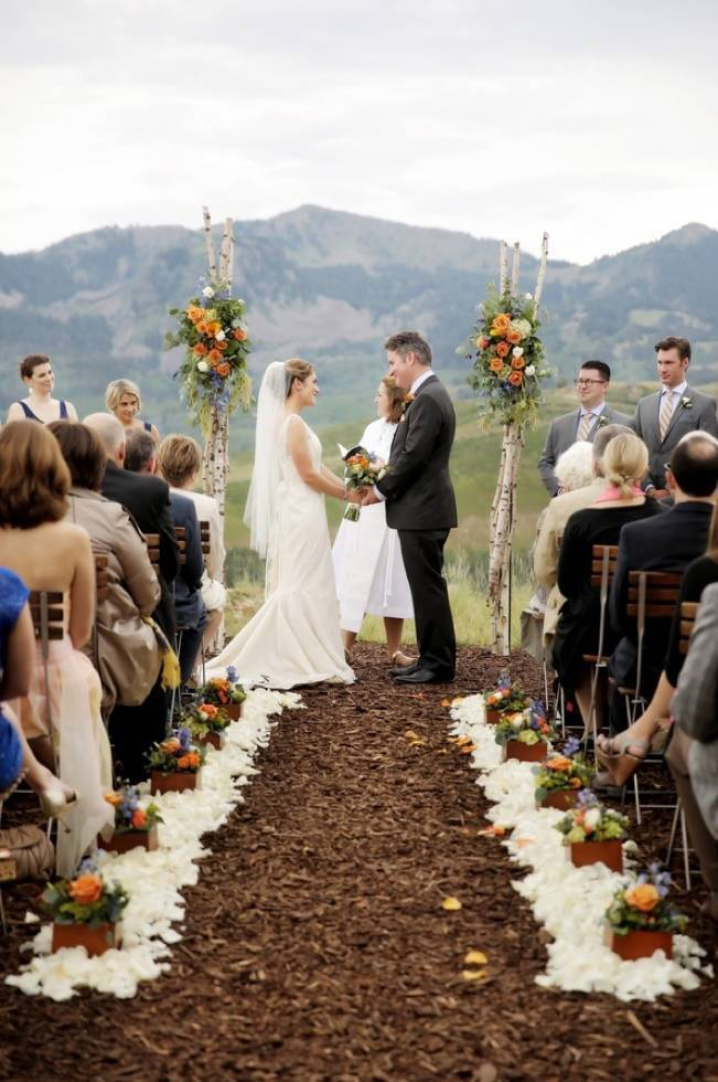 Mountain Chic Destination Wedding at Deer Valley, Utah 12