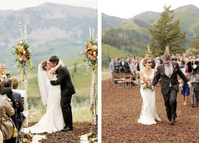 Mountain Chic Destination Wedding at Deer Valley, Utah 14