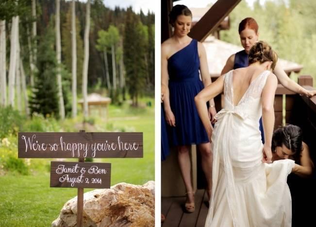 Mountain Chic Destination Wedding at Deer Valley, Utah 3