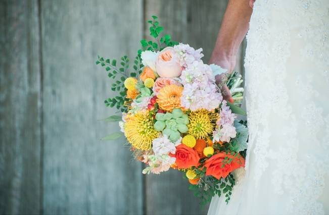 Rustic + Bright Wisconsin Wedding at the Enchanted Barn 1