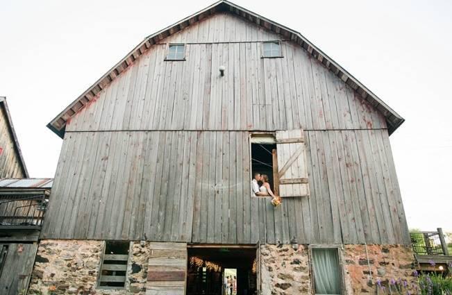 Rustic + Bright Wisconsin Wedding at the Enchanted Barn 18