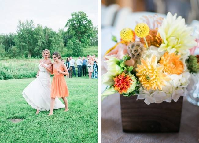 Rustic + Bright Wisconsin Wedding at the Enchanted Barn 21