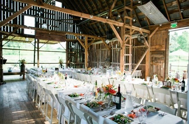 Rustic + Bright Wisconsin Wedding at the Enchanted Barn 23
