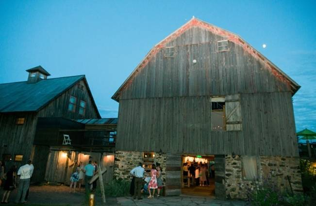 Rustic + Bright Wisconsin Wedding at the Enchanted Barn 25