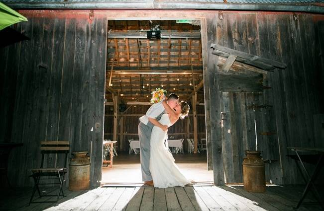 Rustic + Bright Wisconsin Wedding at the Enchanted Barn 26