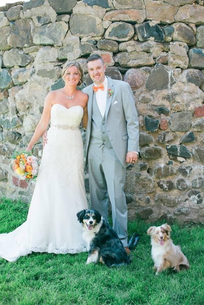 Rustic + Bright Wisconsin Wedding at the Enchanted Barn 4