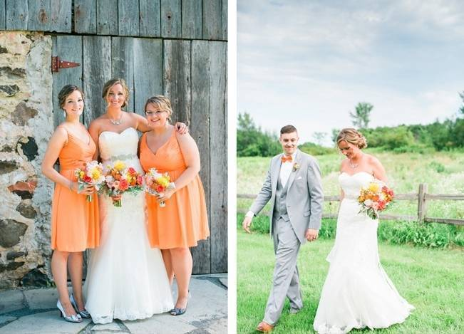 Rustic + Bright Wisconsin Wedding at the Enchanted Barn 5