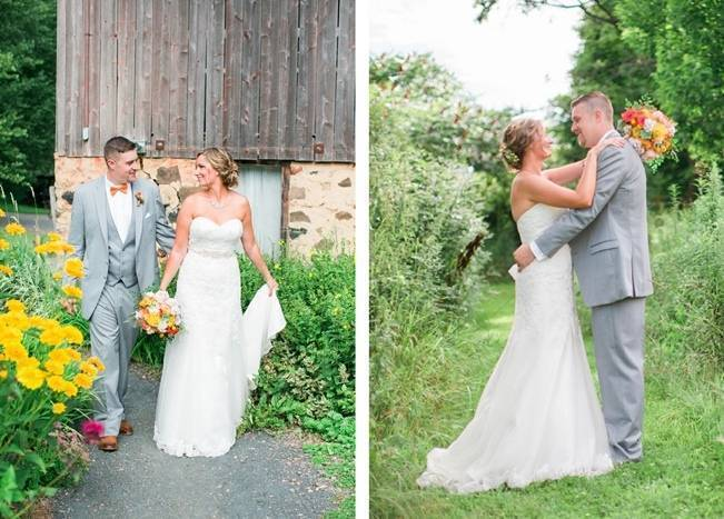Rustic + Bright Wisconsin Wedding at the Enchanted Barn 9