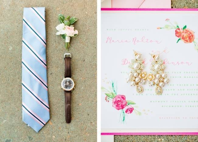Vibrant Spring Garden Wedding Inspiration with Blush Gown 11