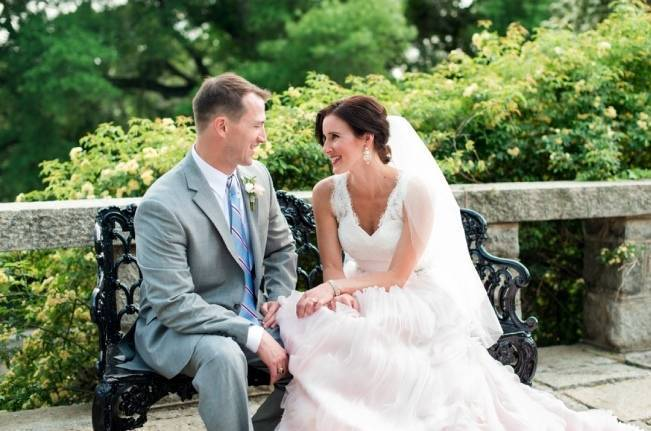 Vibrant Spring Garden Wedding Inspiration with Blush Gown 12