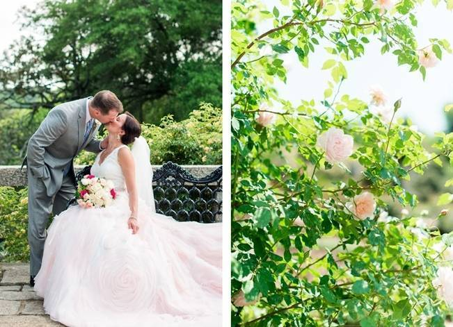 Vibrant Spring Garden Wedding Inspiration with Blush Gown 13