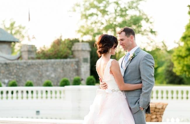 Vibrant Spring Garden Wedding Inspiration with Blush Gown 15