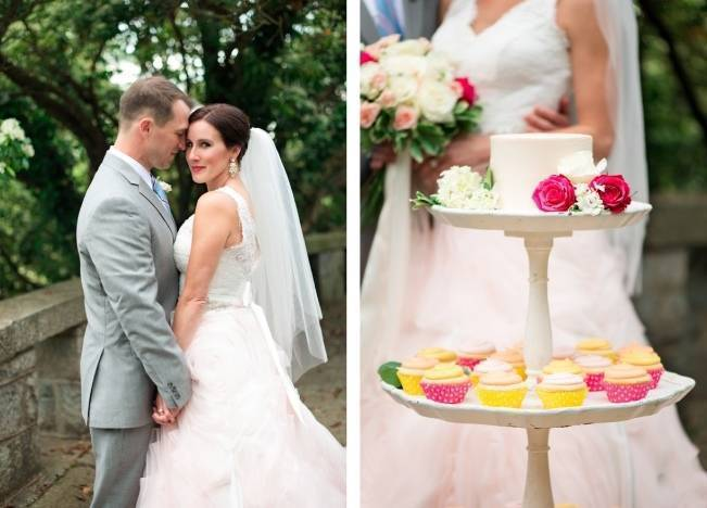 Vibrant Spring Garden Wedding Inspiration with Blush Gown 3