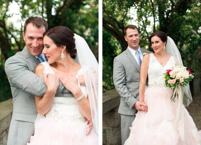 Vibrant Spring Garden Wedding Inspiration with Blush Gown 5