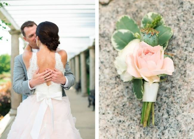 Vibrant Spring Garden Wedding Inspiration with Blush Gown 7