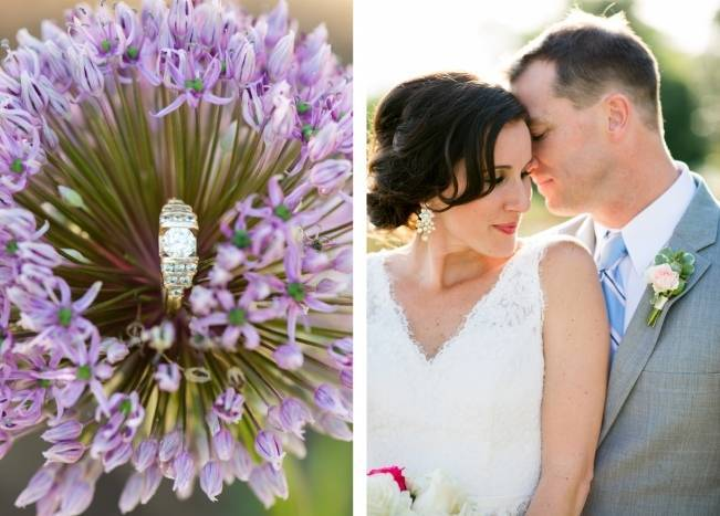 Vibrant Spring Garden Wedding Inspiration with Blush Gown 9