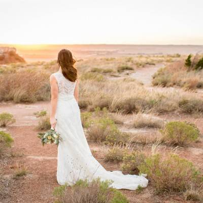 Oklahoma Bridal Shoot at the Glass Mountains