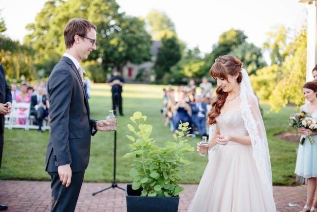 Modern Botanical Greenhouse Wedding {The Light + Color} 13