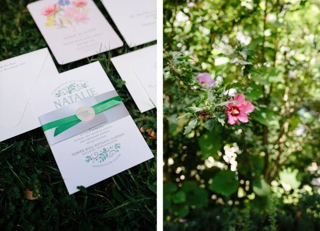 Modern Botanical Greenhouse Wedding {The Light + Color} 2