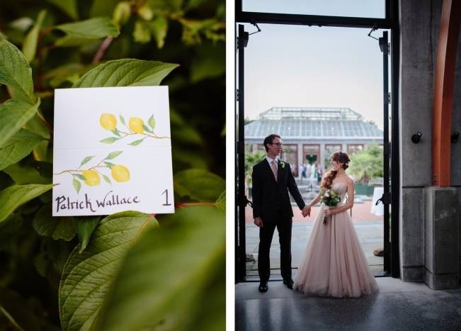 Modern Botanical Greenhouse Wedding {The Light + Color} 23