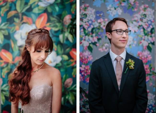Modern Botanical Greenhouse Wedding {The Light + Color} 25