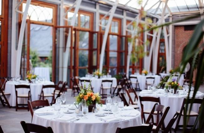 Modern Botanical Greenhouse Wedding {The Light + Color} 26