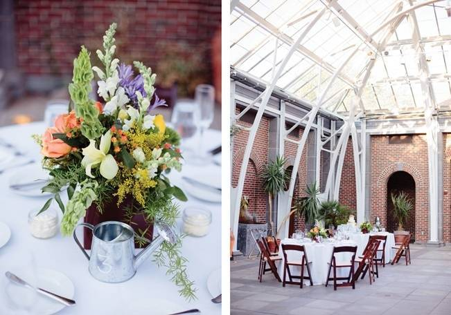 Modern Botanical Greenhouse Wedding {The Light + Color} 27
