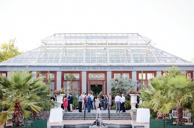 Modern Botanical Greenhouse Wedding {The Light + Color} 28