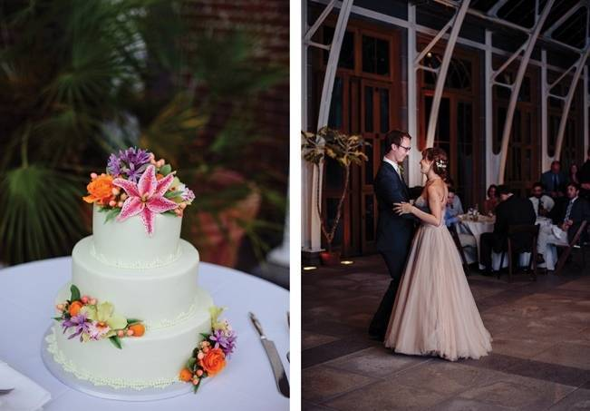 Modern Botanical Greenhouse Wedding {The Light + Color} 29