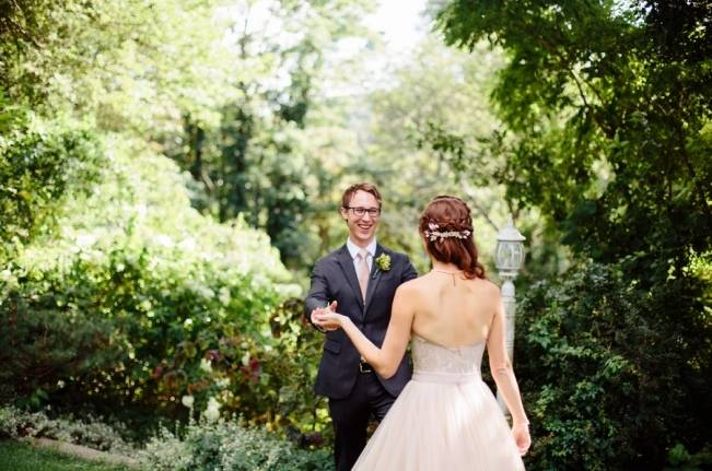 Modern Botanical Greenhouse Wedding {The Light + Color} 3