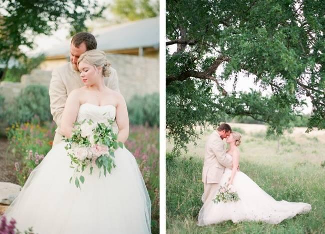 Organic Blush Wedding at The LBJ Wildflower Center in Austin, TX 16