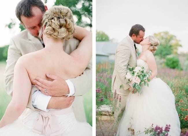Organic Blush Wedding at The LBJ Wildflower Center in Austin, TX 18