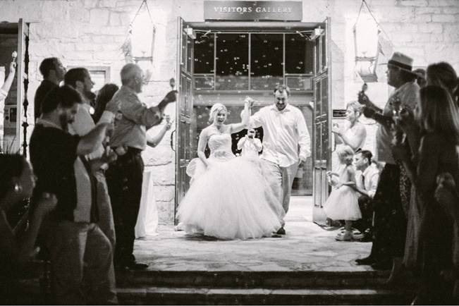 Organic Blush Wedding at The LBJ Wildflower Center in Austin, TX 24