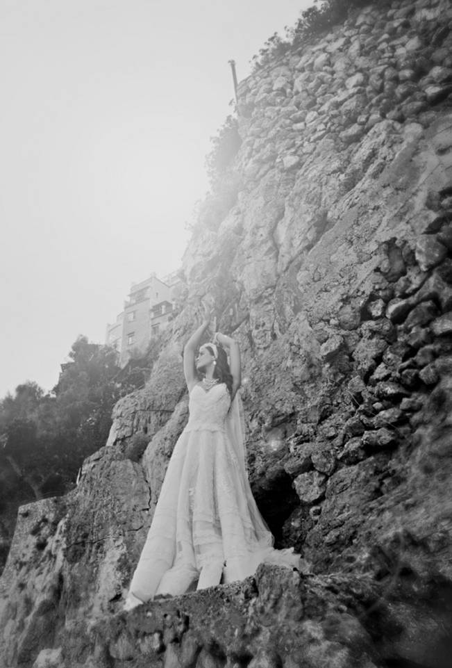Romantic Positano, Italy Bridal Shoot 13