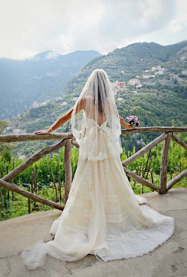 Romantic Positano, Italy Bridal Shoot 7