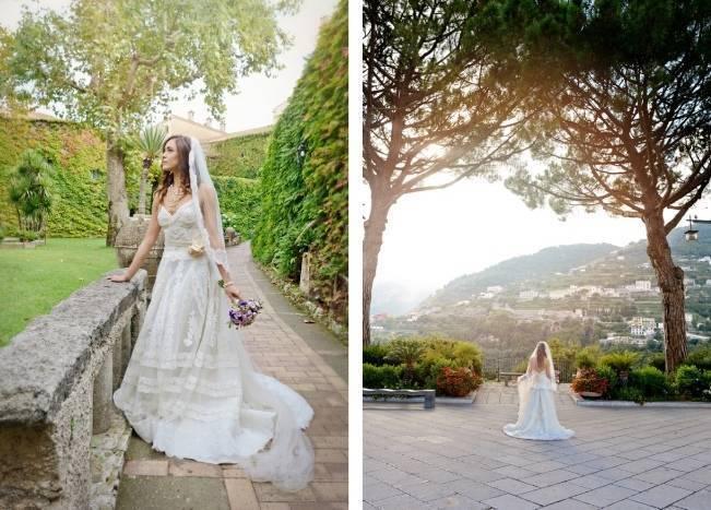 Romantic Positano, Italy Bridal Shoot 8