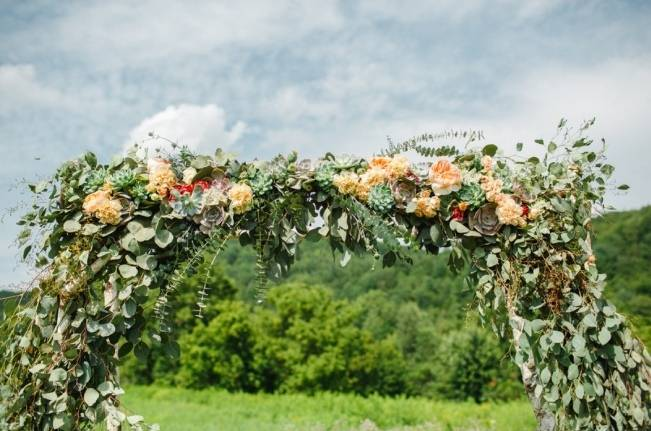 Romantic Vermont Wedding at West Monitor Barn - amy donohue photography 12