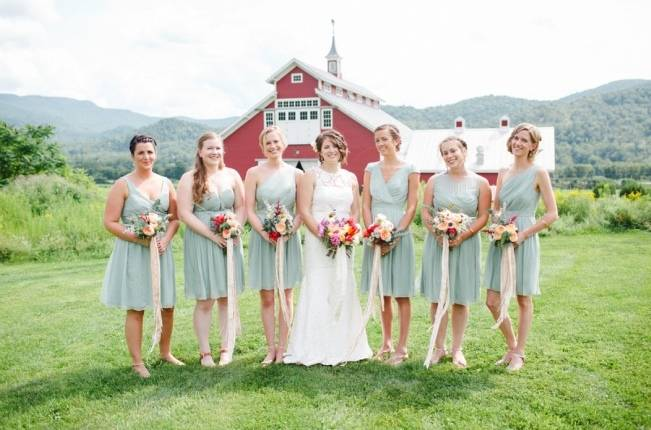 Romantic Vermont Wedding at West Monitor Barn - amy donohue photography 2