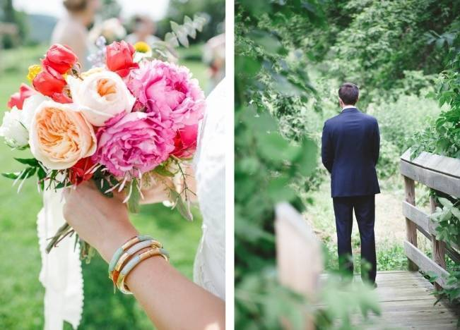 Romantic Vermont Wedding at West Monitor Barn - amy donohue photography 3