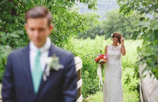 Romantic Vermont Wedding at West Monitor Barn - amy donohue photography 6