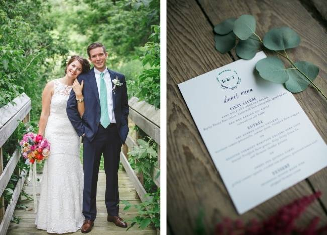 Romantic Vermont Wedding at West Monitor Barn - amy donohue photography 8