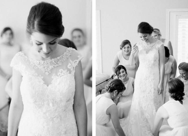 Rustic Chic Texas Barn Wedding - Stephanie Hunter Photography 2
