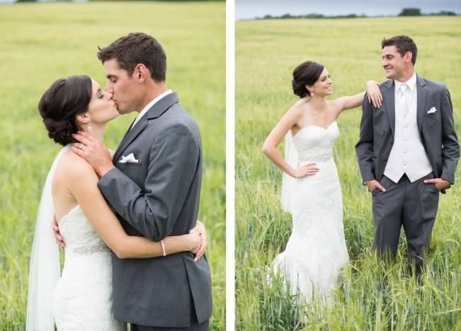 Yellow and Grey Prairie Wedding in Alberta, Canada 15