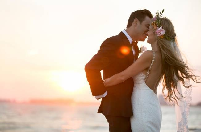 Boho Beach Wedding in Long Island, New York 16