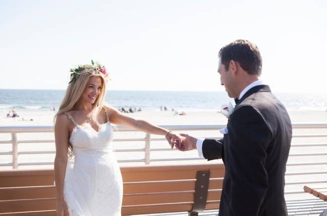 Boho Beach Wedding In Long Island
